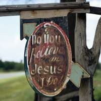 "Do You Believe in Jesus, I Do"", Stephen Syke's Place, near Aberdeen, Mississippi"
