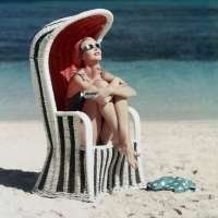 Beach Striped Chair