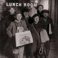Boys Selling Newspapers of Brooklyn Bridge