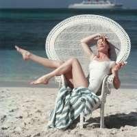 Beach White Chair