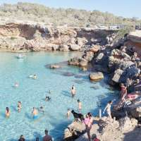 Cala Conta Black Dog, Ibiza, D0015