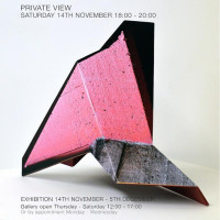 Facet. Solo exhibition by Neil Ayling 14 November - 6 December 2015.