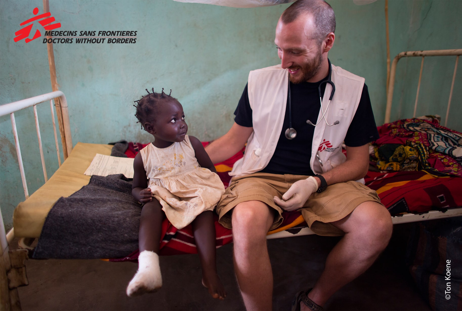 Hospital In The Central African Republic Copyright Ton Koene