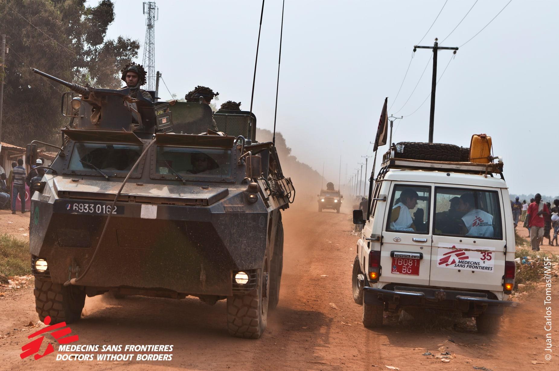 Violence In Car Bangui Copyright Juan Carlos Tomasi