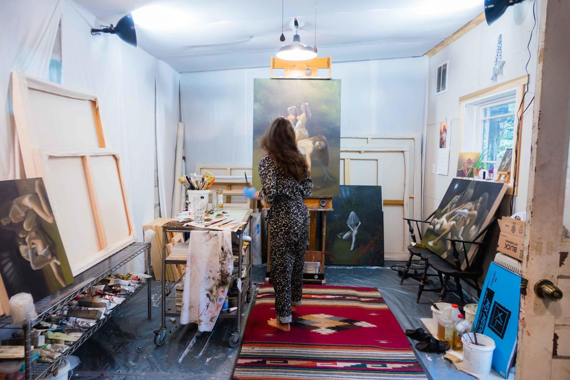 Emilymariemiller Studio Photoby Peterkoloff