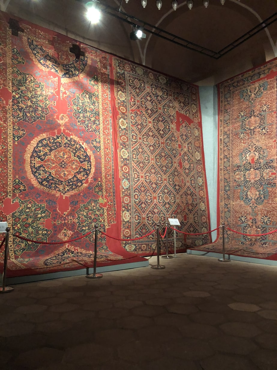 Istanbul Carpet Museum Old Carpets With Missing Portions