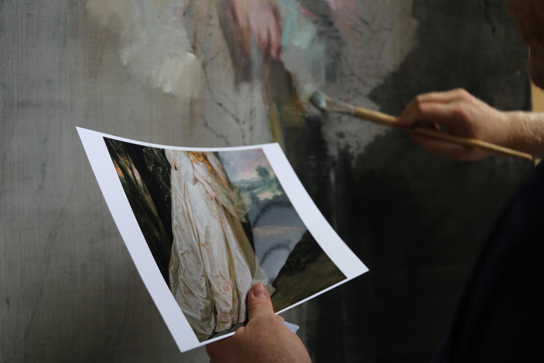 Jake W E Painting