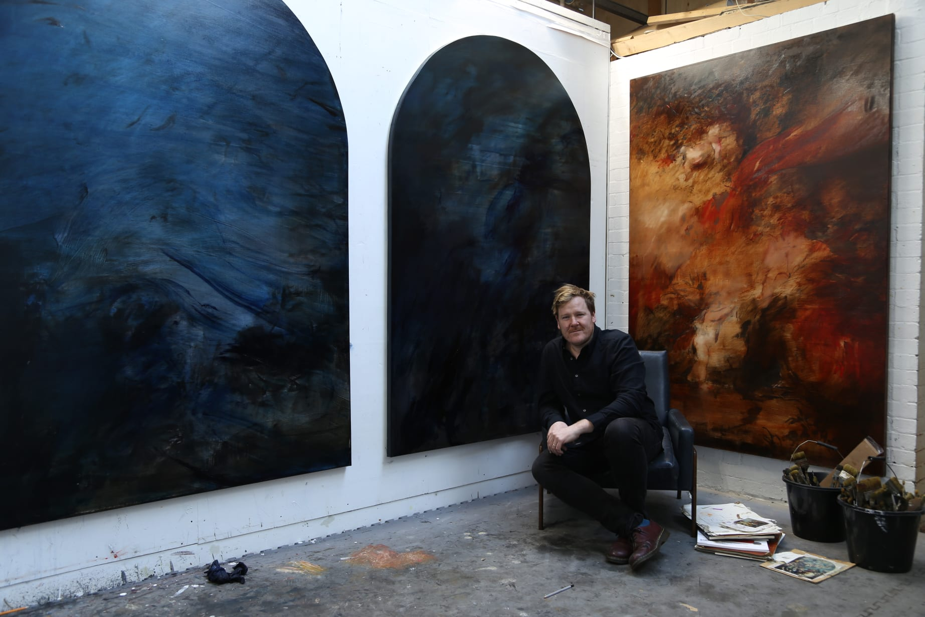 Jake Wood Evans Studio Long Shot