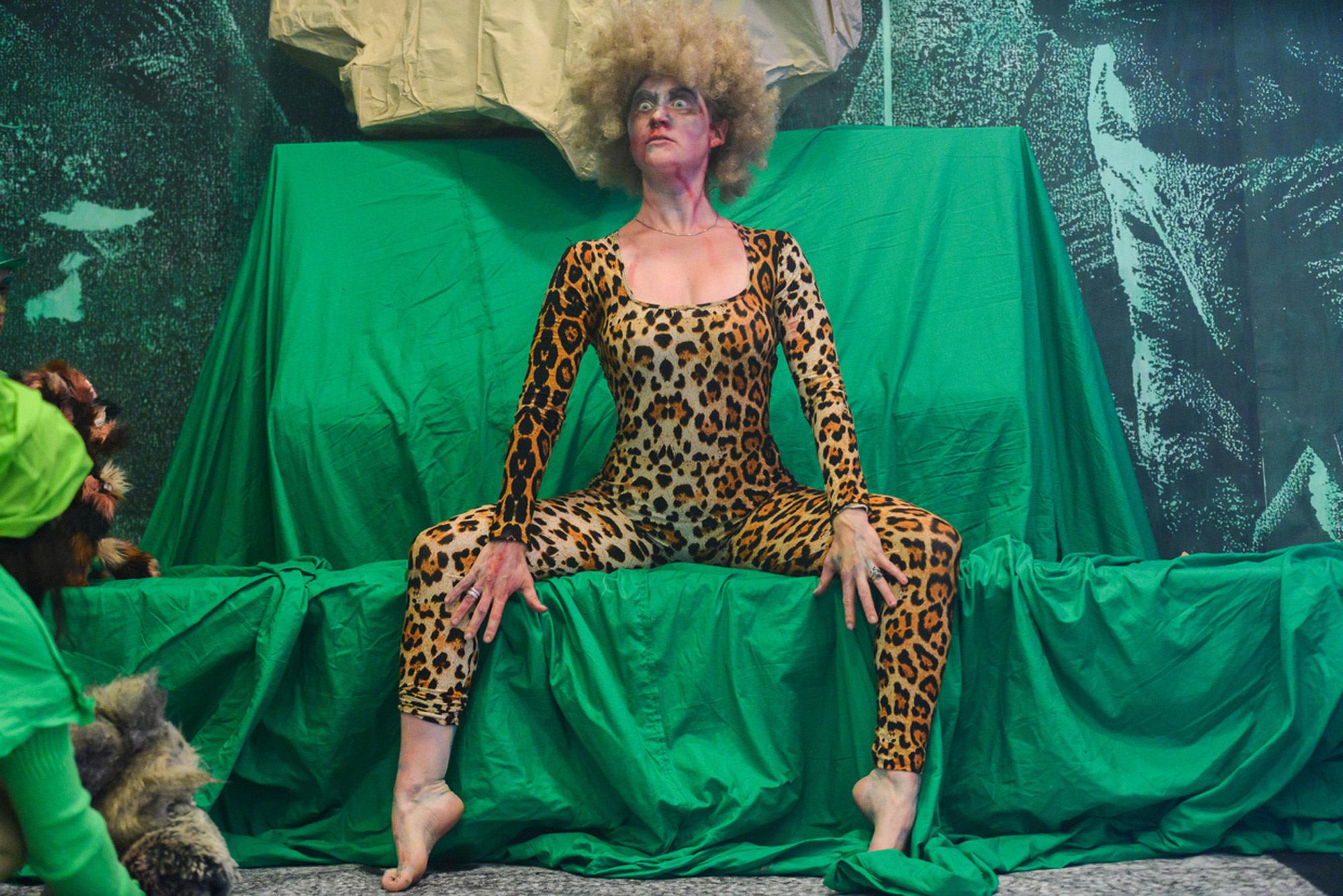 """<div class=""""artwork_caption""""><p>Performance <em>The Green Room</em>, Art Basel Parcours, 12-17 June 2017</p></div>"""