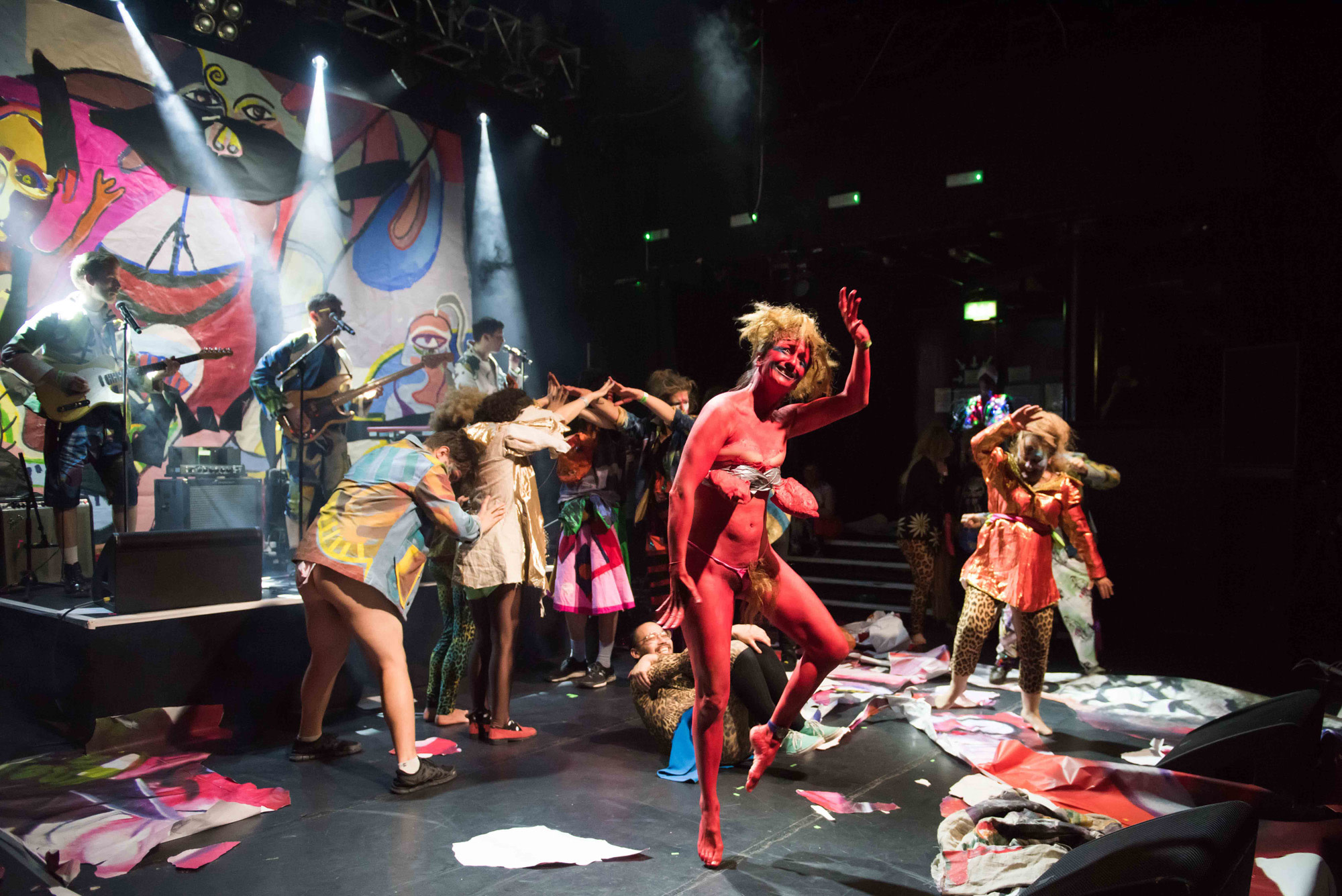 <p>Culture and Leisure with MEGA HAMMER, An Evening of Performances by DRAF at KOKO, 3rd October 2017, London</p>
