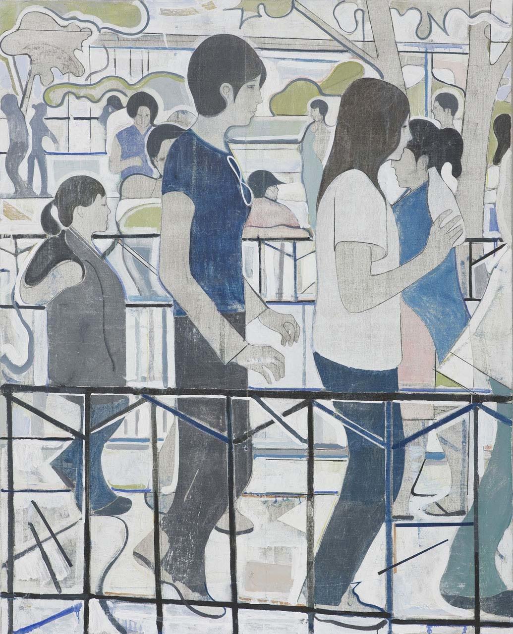 <p>Untitled (three women facing right), 2008</p>