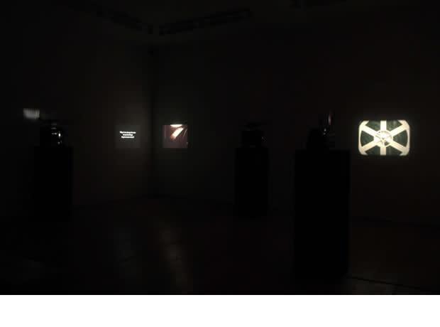 <p>Installation View, Wilhelm Sasnal</p>