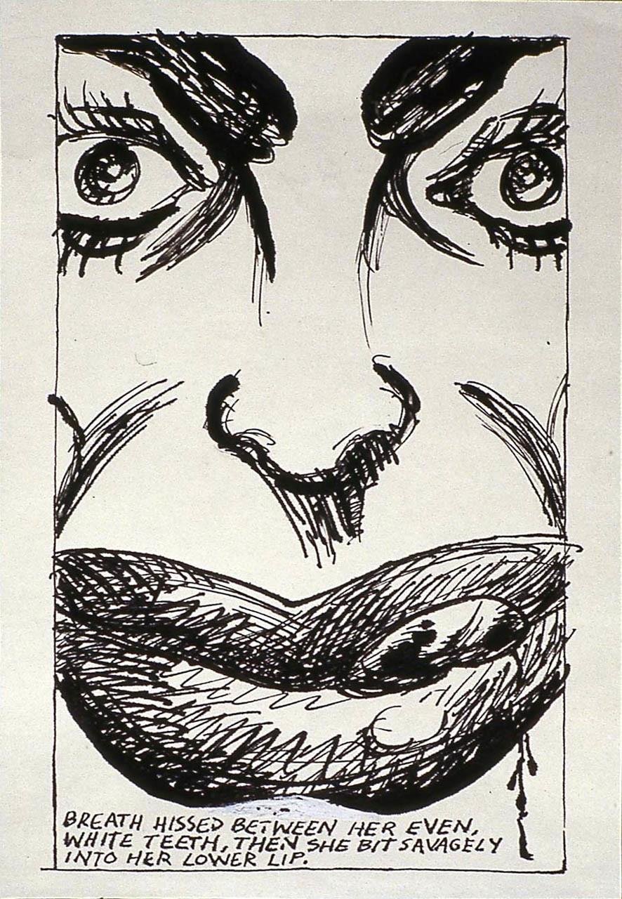 "<div class=""artwork_caption""><p>No Title (Breath hissed between), 1984</p></div>"