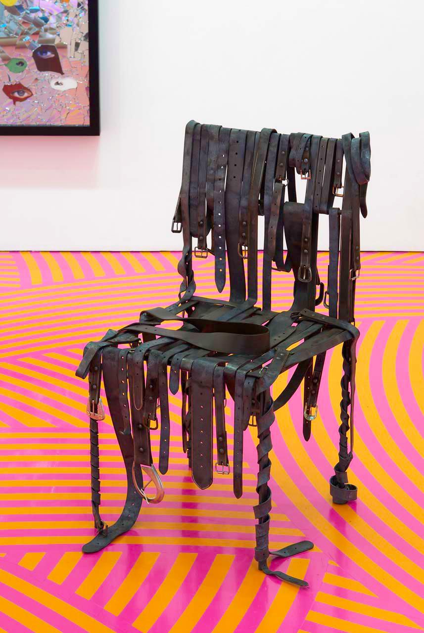 "<div class=""artwork_caption""><p>Seat Belt (Ned Kelly), 2009</p></div>"