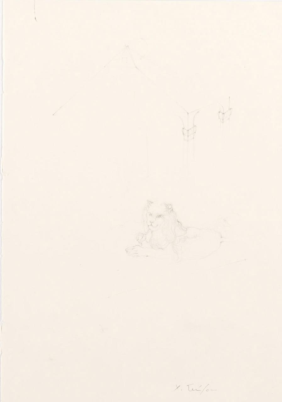 """<div class=""""artwork_caption""""><p>The Lion's Part, 2008</p></div>"""