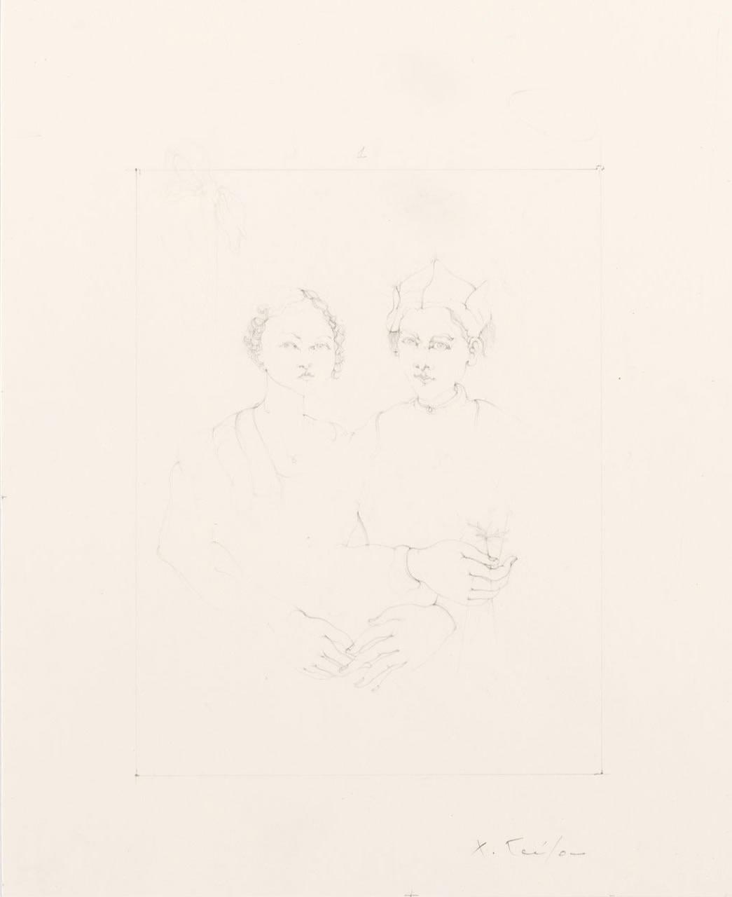 """<div class=""""artwork_caption""""><p>Hippolyta and Theseus (Our Nuptial Hour), 2008</p></div>"""