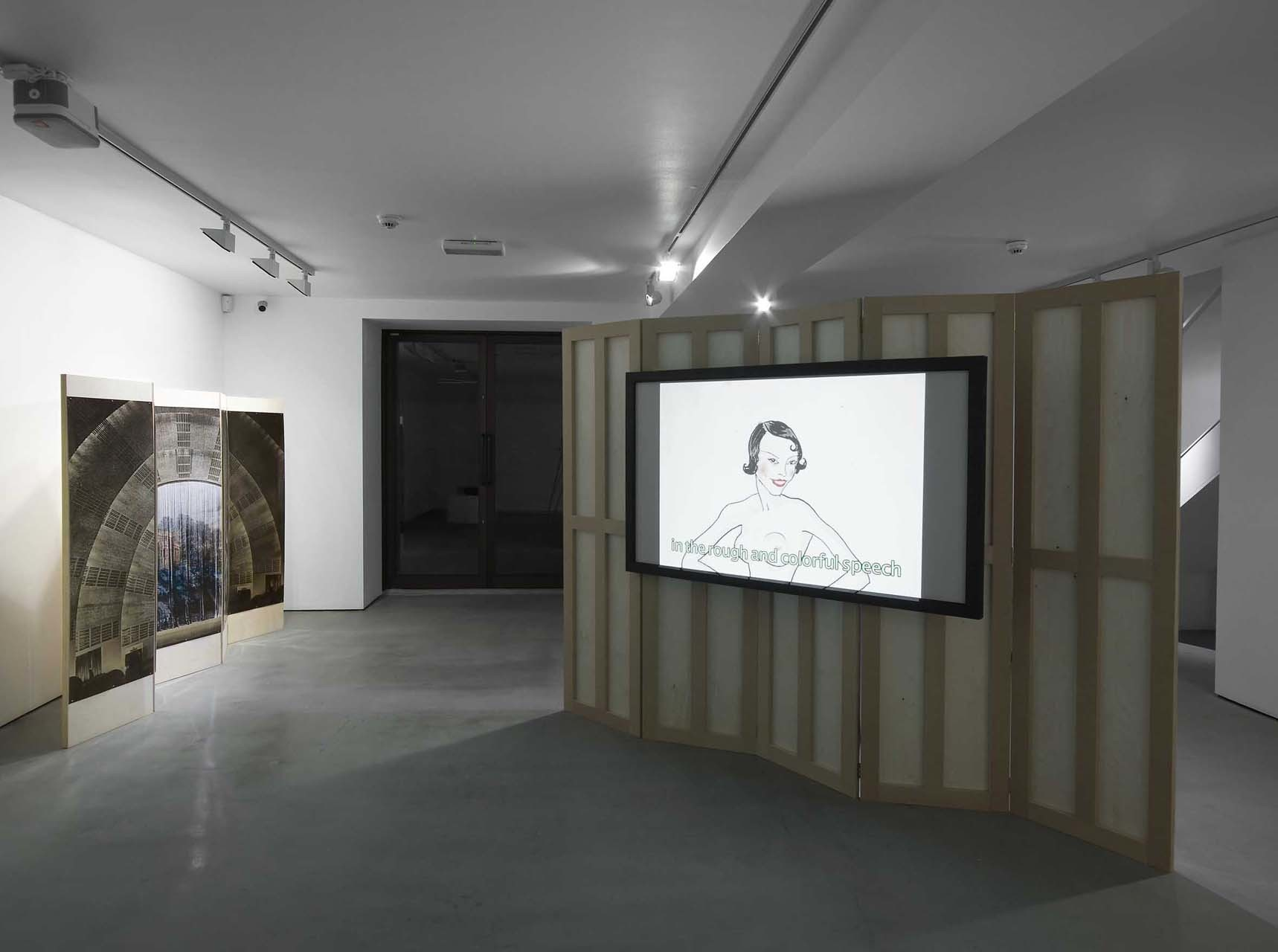 """<div class=""""artwork_caption""""><p>The Heir and Astaire, Installation View, 2010</p></div>"""