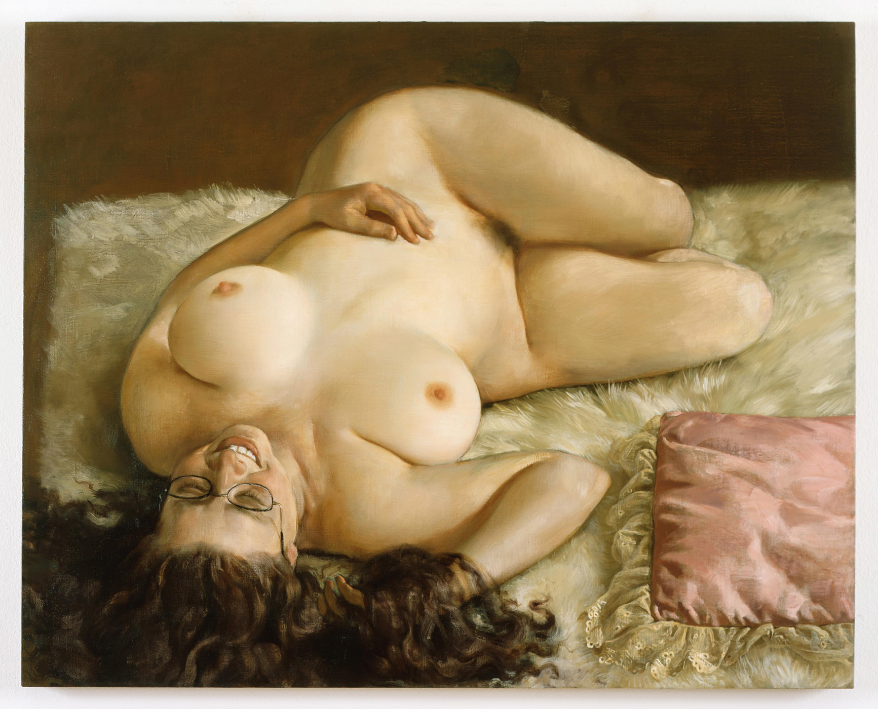 "<div class=""title""><em>Amanda</em>, 2003</div><div class=""medium"">oil on canvas</div><div class=""dimensions"">81.28 x 102.87 cm<br />32 x 40 1/2 in.</div>"