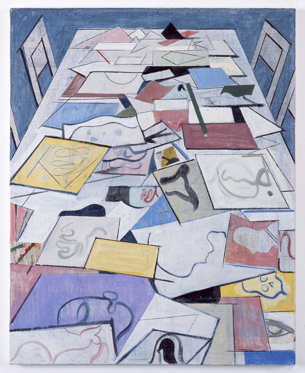 "<div class=""artwork_caption""><p>Table with Drawings, 2010</p></div>"