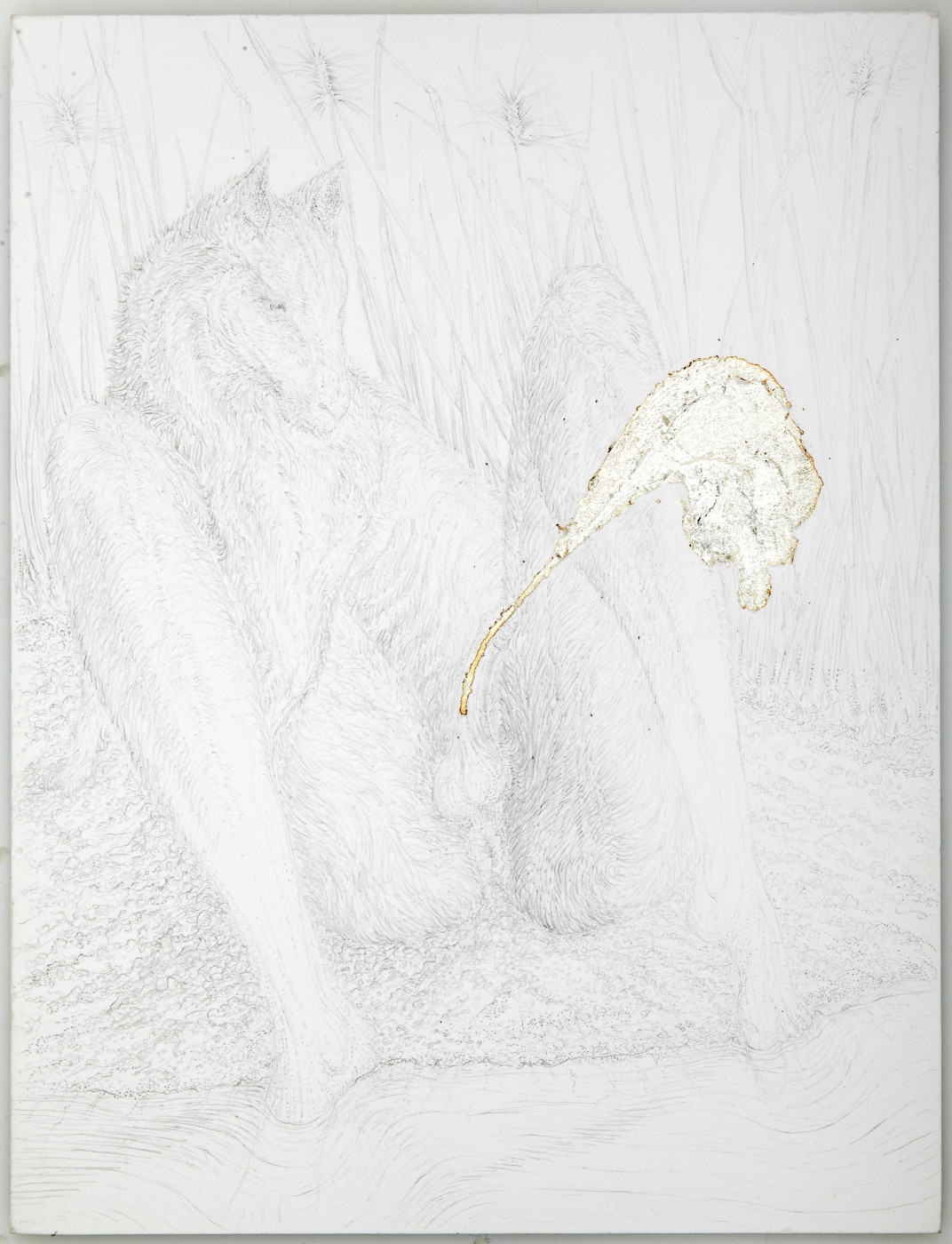 """<div class=""""artwork_caption""""><p>KHU: The Seed of Set is Dense as the Milk of Silver, 2009</p></div>"""