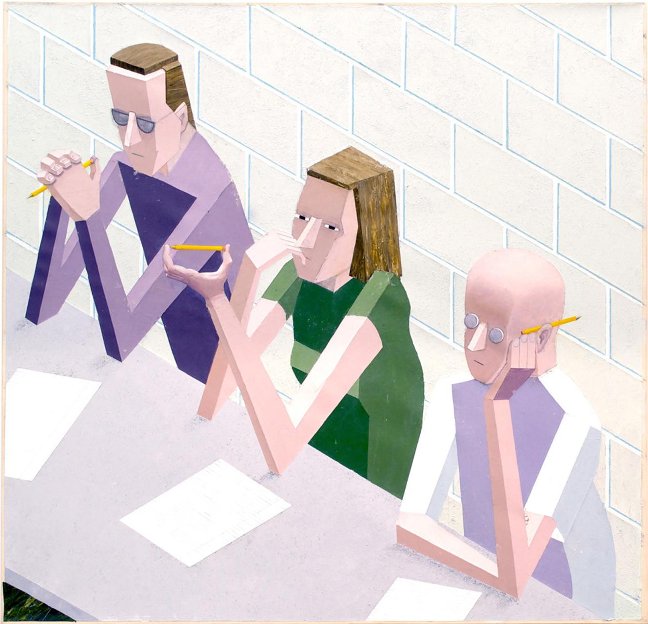 "<div class=""artwork_caption""><p>Mernet Larsen, Taking Notes, 2004</p></div>"