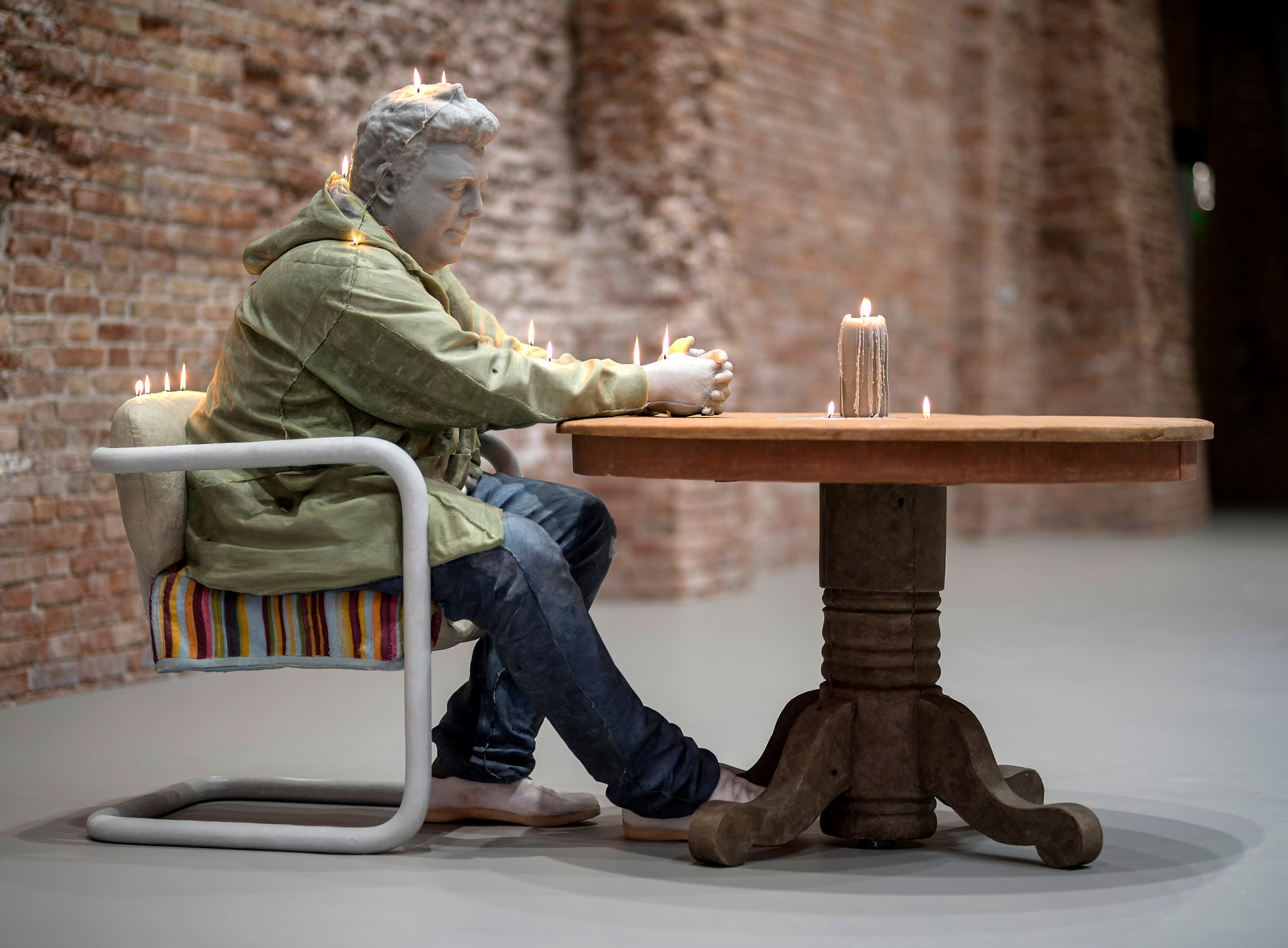 <p>Installation view, group exhibition <em>Dancing with Myself,</em> Palazzo Grassi Punta della Dogana, 08 April - 06 December 2018</p>
