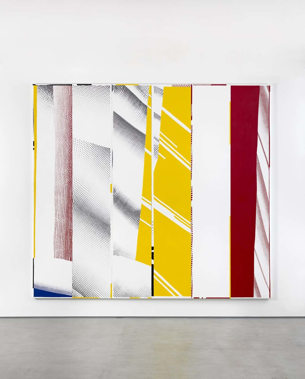 "<div class=""artwork_caption""><p>Group Self-portrait in ""Mirror #3 (Six Panels)"" (Michael, Nir, Jayne, Cy, Diego, Rebecca), 2015</p></div>"