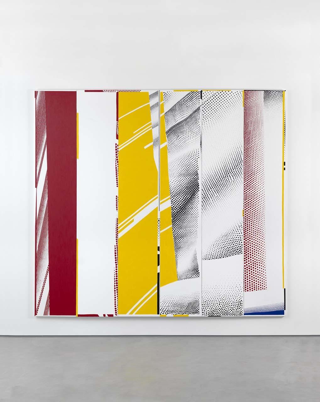 "<div class=""artwork_caption""><p>Group Self-portrait in ""Mirror #3 (Six Panels)"" (Li Huan, Jacob, Ian, Cathleen, Dom, Karin), 2015</p></div>"