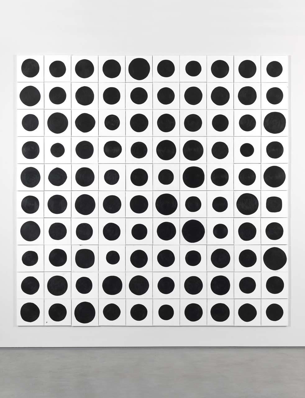 "<div class=""artwork_caption""><p>100 Dots, 2015</p></div>"