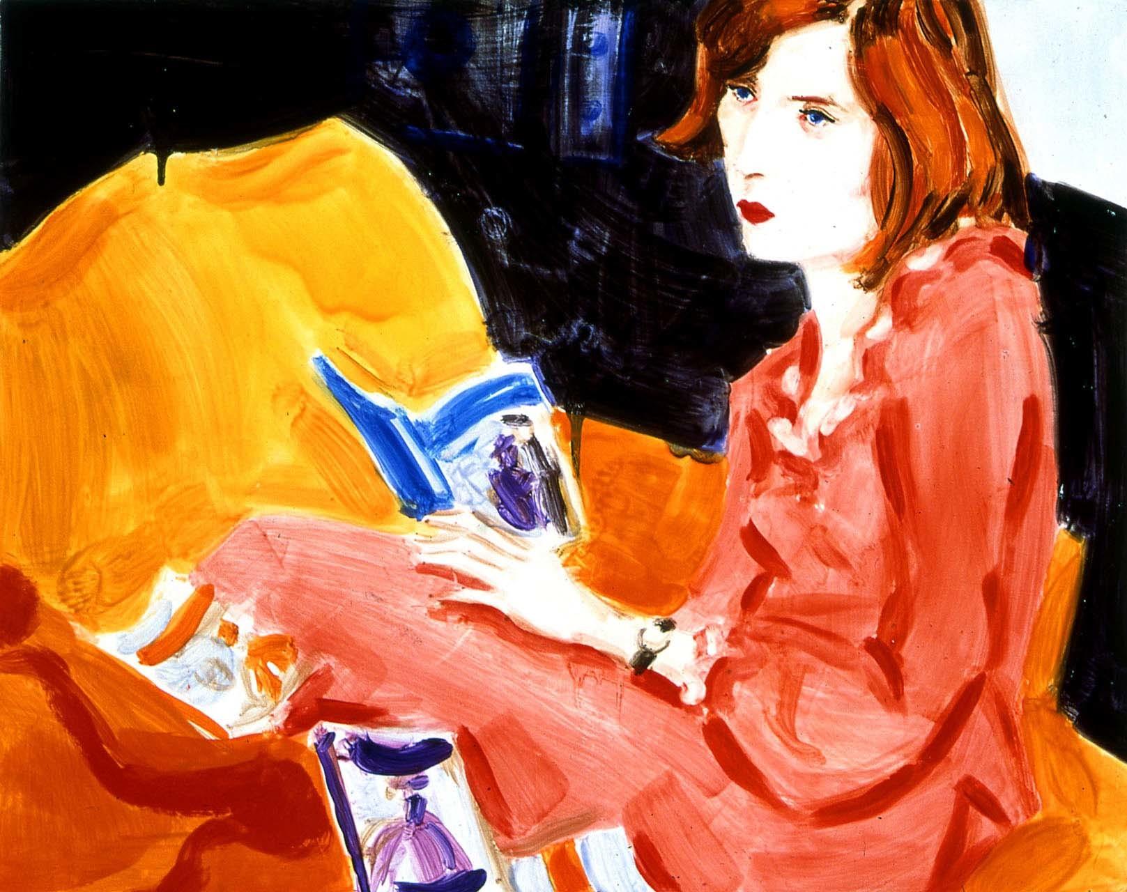 """<div class=""""artwork_caption""""><p>Princess Diana Reading Romance Novels, 1998</p></div>"""