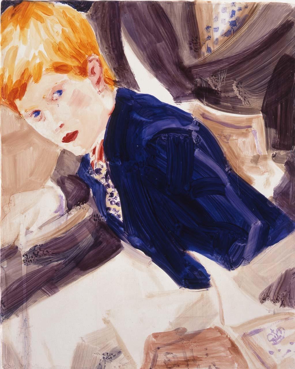 "<div class=""artwork_caption""><p>Prince Harry in Westminster. London, November 1997, 1998</p></div>"
