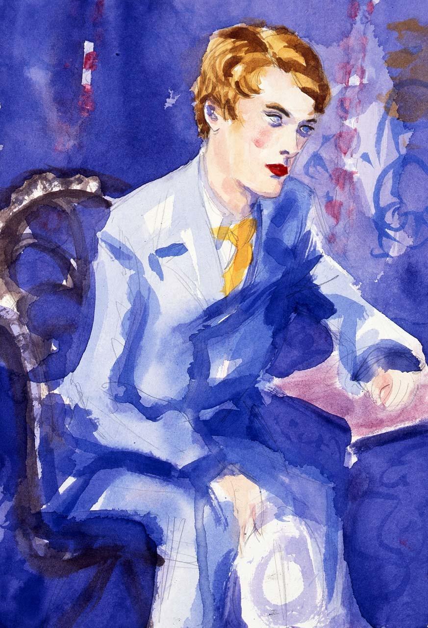 "<div class=""artwork_caption""><p>Lord Alfred Douglas in Cairo, 1998</p></div>"