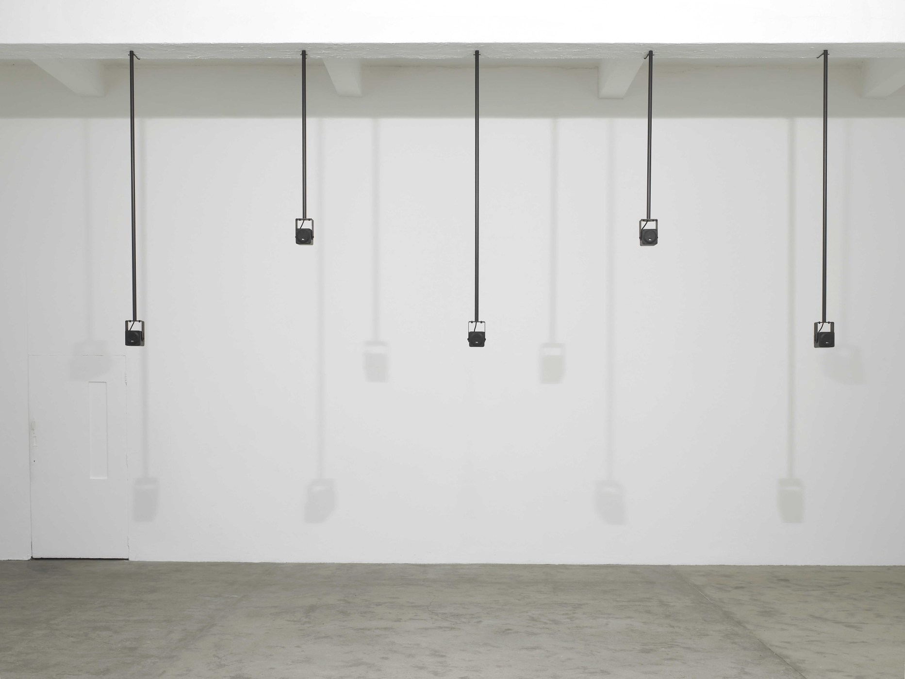 <p>Installation view, Florian Hecker, Chisenhale Gallery, London, 12 February – 28 March 2010</p>