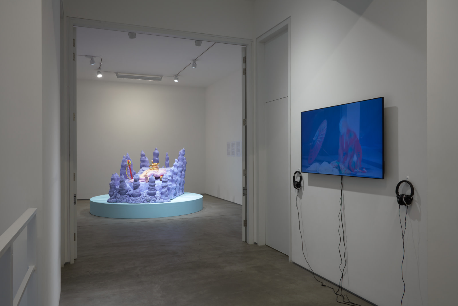"<div class=""artwork_caption""><p>Installation View, 2017<br />Photo by Robert Glowacki</p></div>"