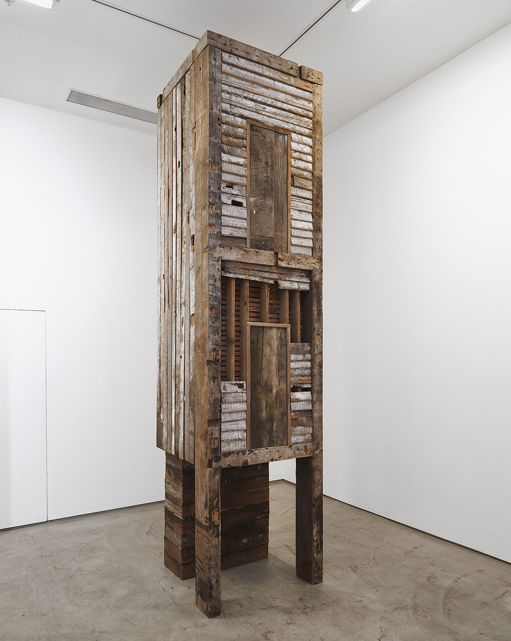 <p>Marianne Vitale, Double Decker Outhouse, 2011</p>