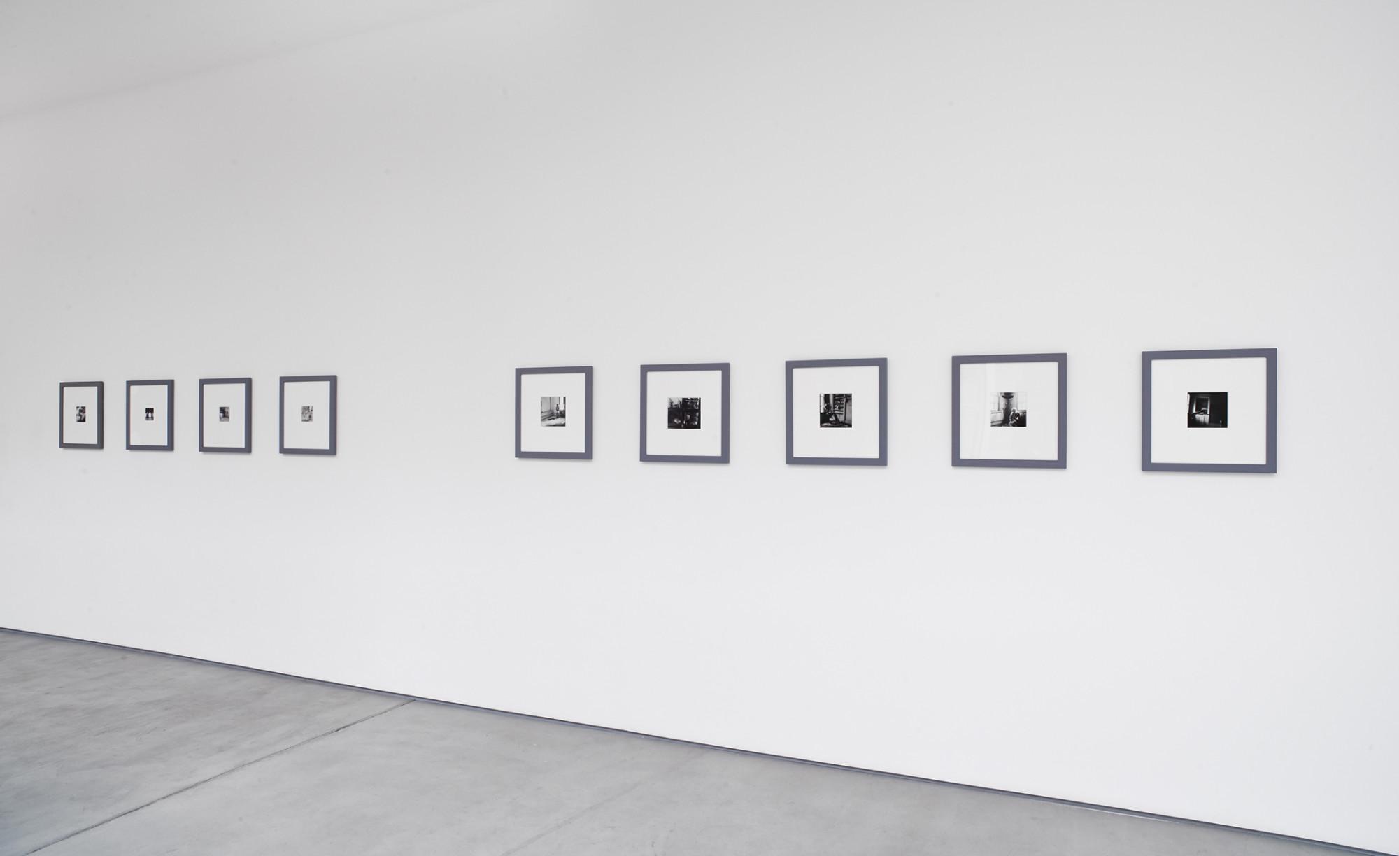 <p>Francesca Woodman, installation view, 2017</p>