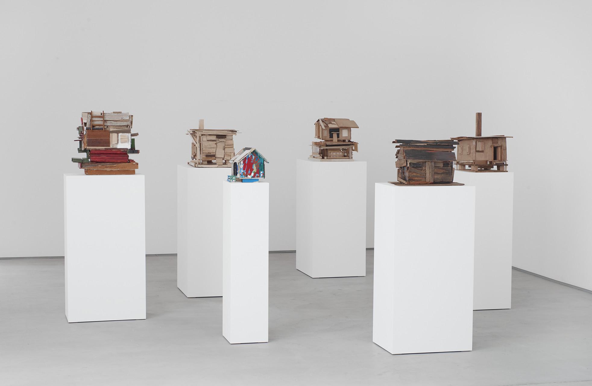 <p>Beverly Buchanan, installation view, 2017</p>
