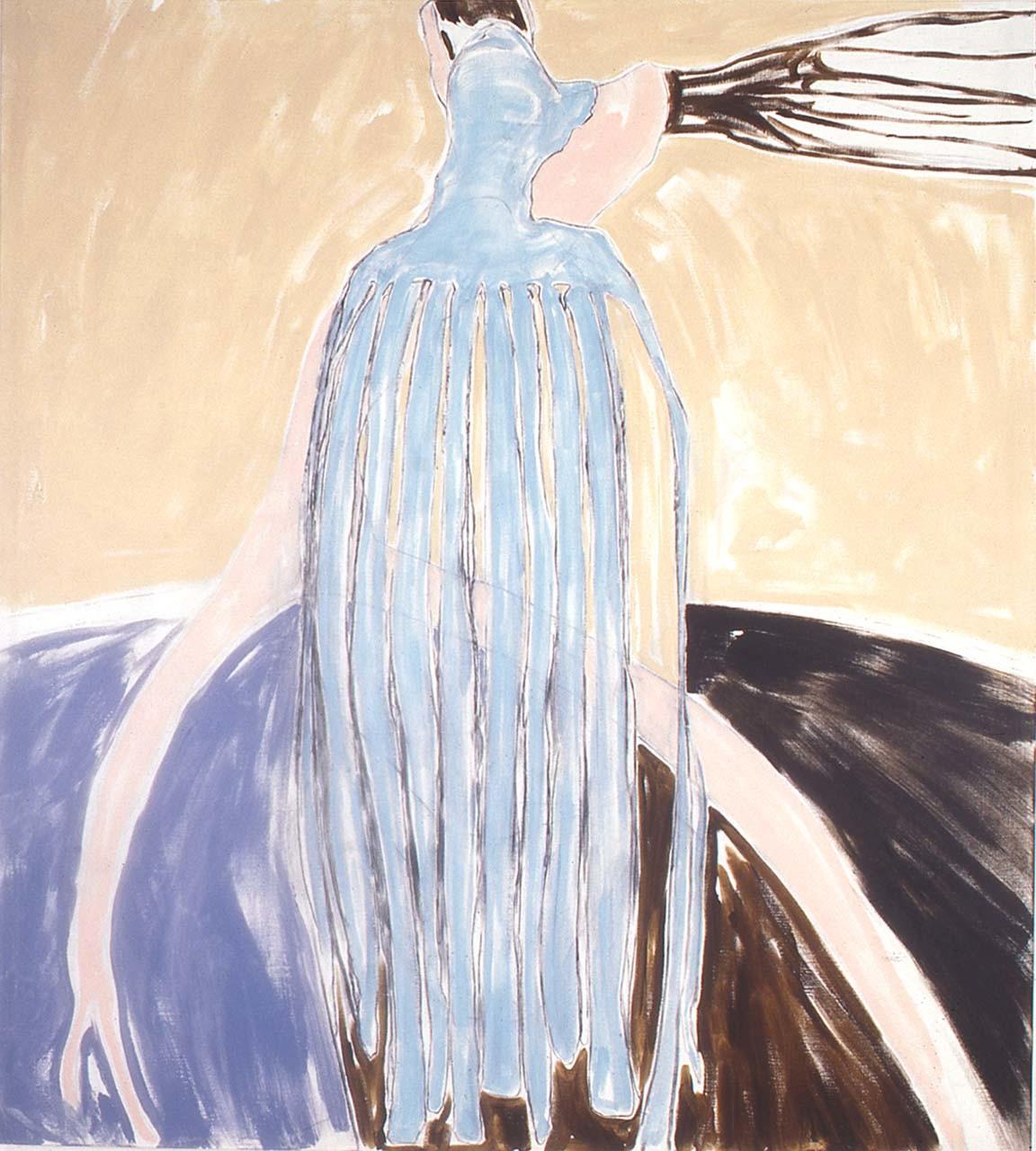 "<div class=""artwork_caption""><p>Curtain Figure, 1999</p></div>"