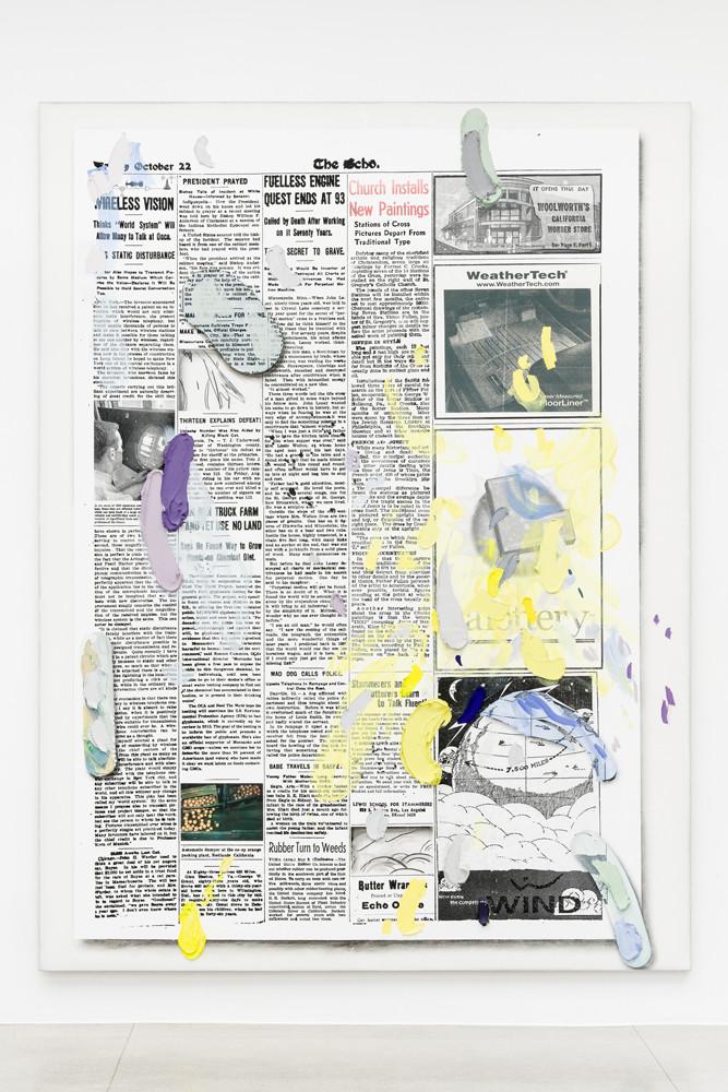 <div><em>Untitled</em>, 2015</div><div>oil, silkscreen inks, Flashe, charcoal, acrylic and gesso on linen</div><div>351.0 x 264.5 x 8.5 cm<br />138 3/16 x 104 1/8 x 3 5/16 in.</div>