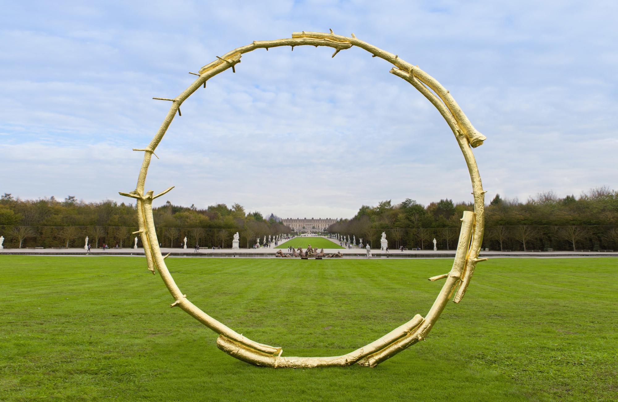 <p>Installation view, <em>The Sun</em>,Château de Versailles, Versailles, 22 October 2017 - 07 January 2018</p>