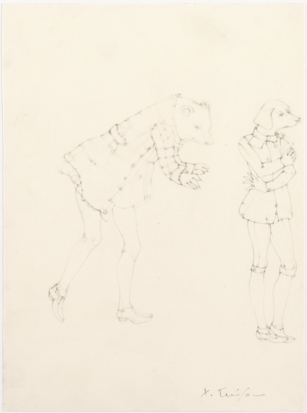 """<div class=""""title""""><em>Oberon's Wish</em>, 2008</div><div class=""""signed_and_dated"""">Signed on front</div><div class=""""medium"""">pencil on paper</div><div class=""""dimensions"""">20.3 x 15.1 cm<br />8 x 6 in.</div>"""