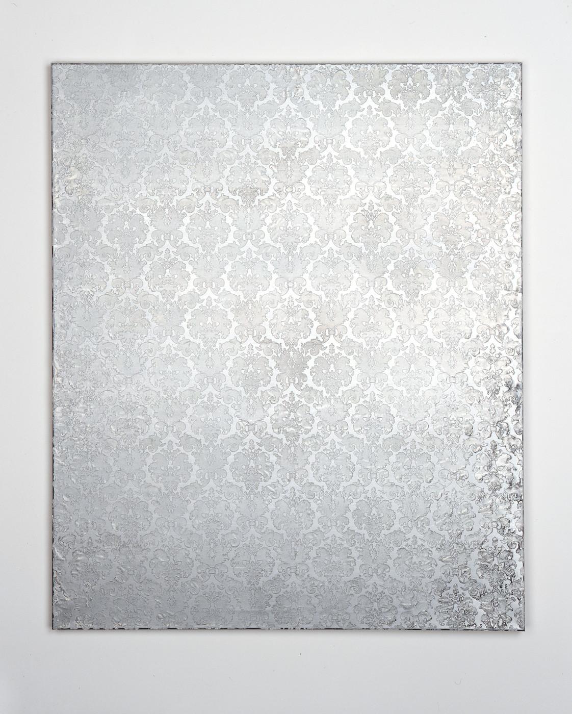 "<div class=""title""><em>Untitled (flock)</em>, 2004</div><div class=""medium"">oil and enamel on canvas</div><div class=""dimensions"">120.0 x 100.0 x 3.5 cm<br />47 1/4 x 39 3/8 x 1 3/8 in.</div>"
