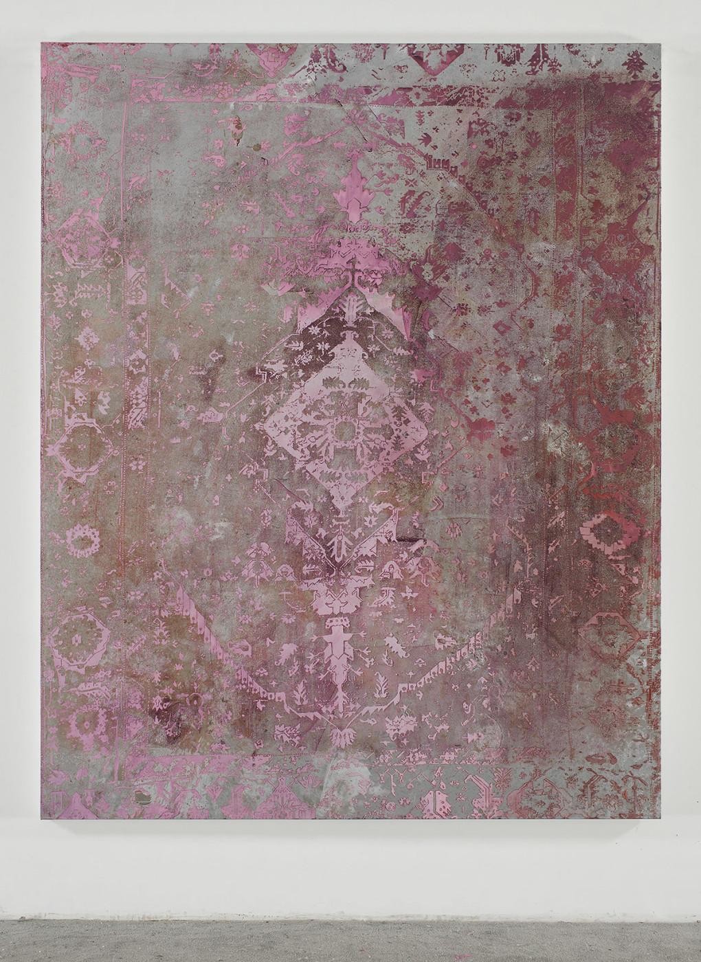 "<div class=""title""><em>Untitled</em>, 2012</div><div class=""medium"">oil and enamel on canvas</div><div class=""dimensions"">241.3 x 193.0 x 5.2 cm<br />95 x 76 x 2 in.</div>"
