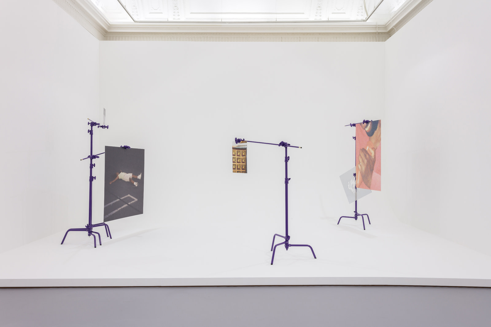<p>Installation view, Fact & Trouble,&#160;ICA London, 20 April - 19 June 2016</p>