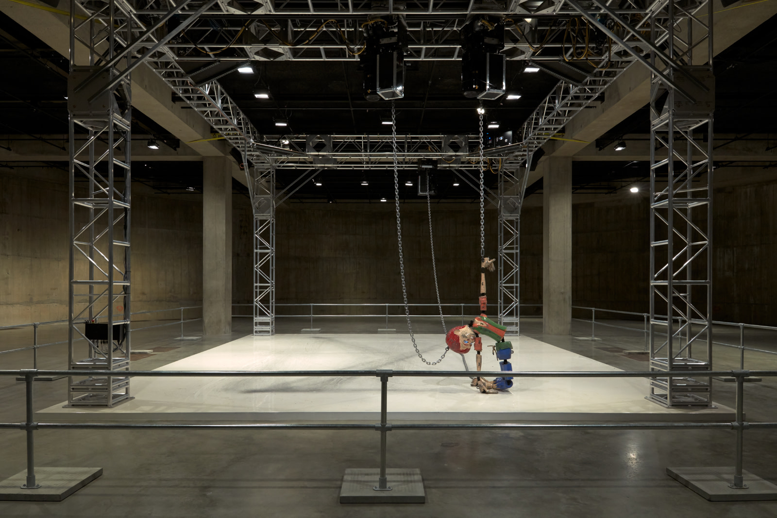 <p>Colored<em>sculpture</em>, 2016, installation view, The Tanks, Tate Modern, 3 May - 31 August 2018</p><p>Mixed media</p><p>Overall dimensions vary with each installation</p><p>Photo: Robert Glowacki</p>
