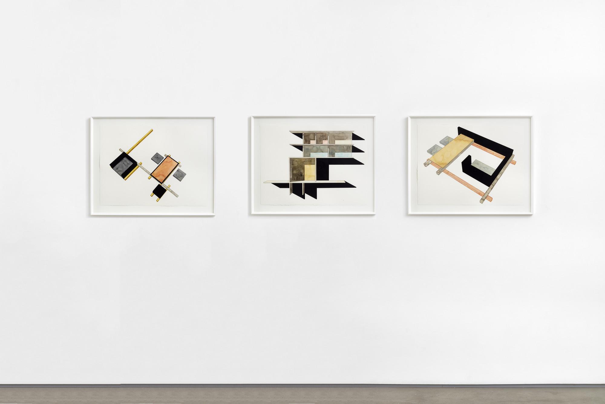 """<div class=""""artwork_caption""""><div class=""""title""""><em>Untitled</em>, 2018</div><div class=""""medium"""">watercolour on paper</div><div class=""""dimensions"""">site size: 58 x 76.5 cm / 22 7/8 x 30 1/8 in<br />frame size: 70.3 x 89 x 3.3 cm /27 5/8 x 35 1/8 x 1 1/4 in<br /><br /></div><div class=""""dimensions""""><div class=""""title""""><em>Untitled</em>, 2018</div><div class=""""medium"""">watercolour on paper</div><div class=""""dimensions"""">site size: 58 x 77 cm / 22 7/8 x 30 1/4 in<br />frame size: 70.3 x 89 x 3.3 cm / 27 5/8 x 35 1/8 x 1 1/4 in</div><div class=""""dimensions""""></div><div class=""""dimensions""""><div class=""""title""""><em>Untitled</em>, 2018</div><div class=""""medium"""">watercolour on paper</div><div class=""""dimensions"""">site size: 58 x 77 cm / 22 7/8 x 30 1/4 in<br />frame size: 70.3 x 89 x 3.3 cm / 27 5/8 x 35 1/8 x 1 1/4 in</div></div></div></div>"""