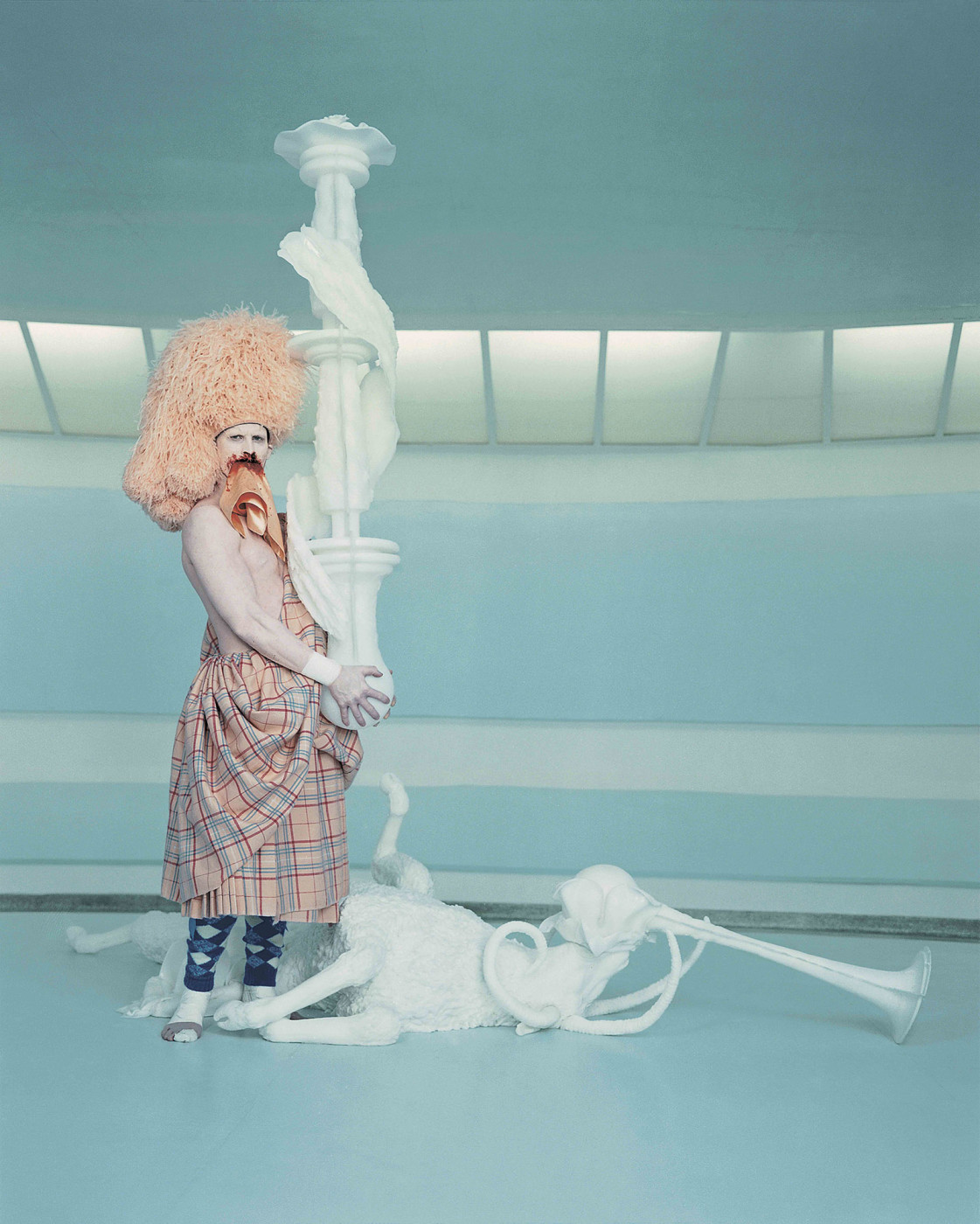 <p>Photograph from <em>Cremaster 3</em>, 2002</p>