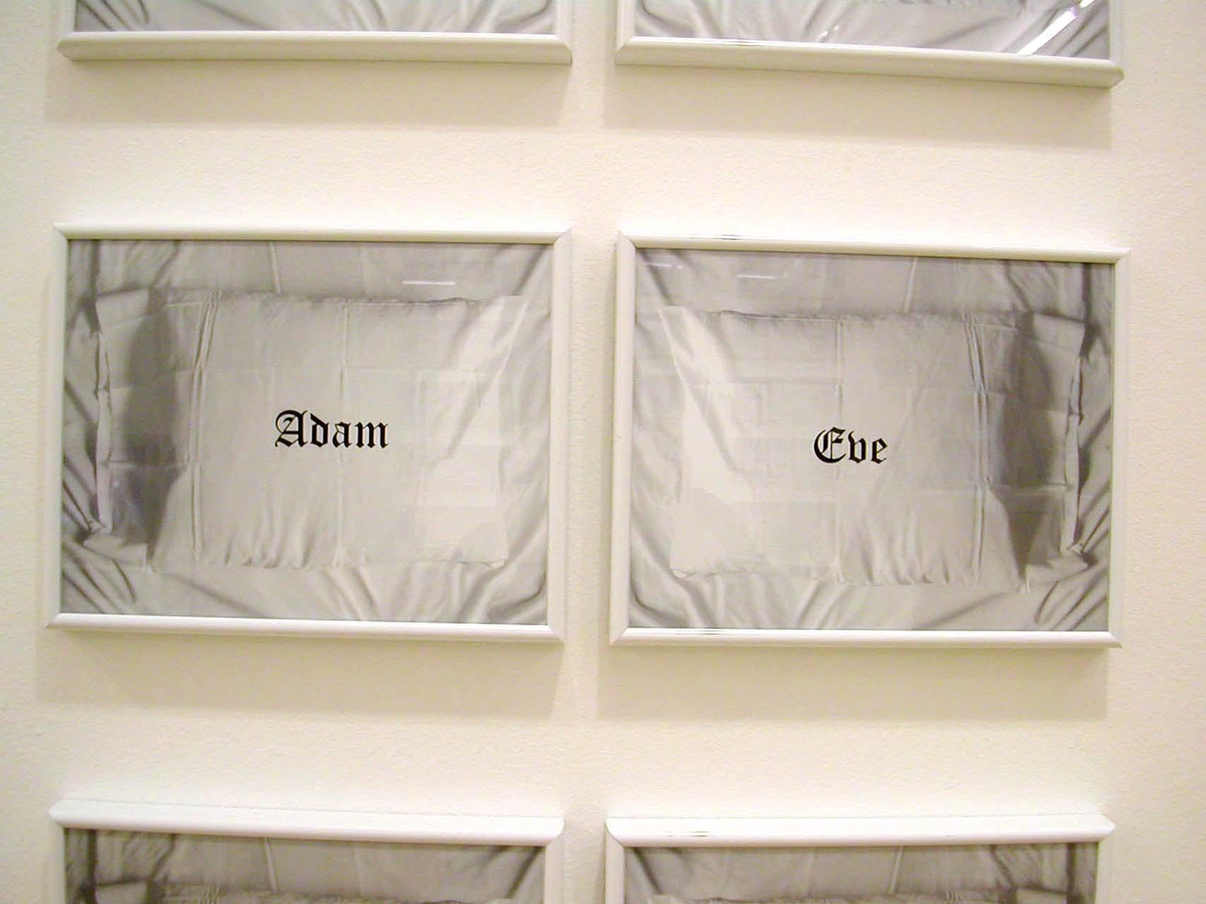 """<div class=""""artwork_caption""""><p>Adam & Eve, 2002</p></div>"""