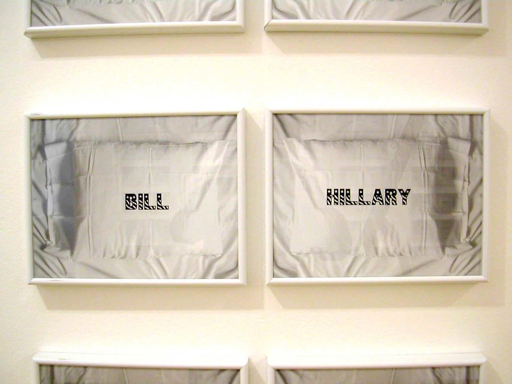 """<div class=""""artwork_caption""""><p>Bill & Hilary, 2002</p></div>"""