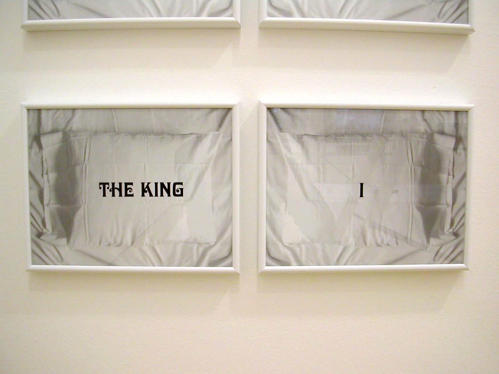 """<div class=""""artwork_caption""""><p>The King and I, 2002</p></div>"""